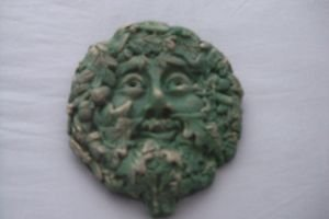 """Small """"green Man"""" Garden Ornament Wall Plaque from Ornamental Weather"""