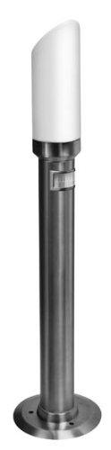 Edelstahl Außenleuchte Standleuchte Wegeleuchte mit Bewegungsmelder Post-Tec 200 Rubin