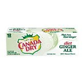 Canada Dry Ginger Ale Diet Caffeine Free 12 Oz Cool Pack $6.48 12-pk