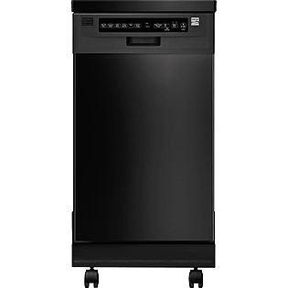 Kenmore 18'' Portable Dishwasher - Black Energy Star® (Kenmore 18 Portable Dishwasher compare prices)