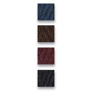 buyMATS Inc. 3' x 6' Chevron Rib Mat Slate Blue 01-435-1512-30000600
