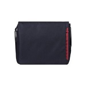 "Belkin Mini Messenger 12.1"" Notebook Case Black/Burgundy by Belkin Components"