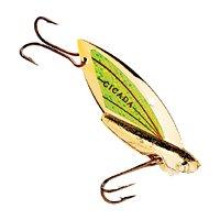 Reef Runner Cicada Lures Size: 3/8 oz.; Color: Black Nickel/Purple (304)