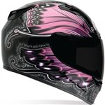 Bell Monarch Women'S Vortex Street Bike Motorcycle Helmet - Pink / Small