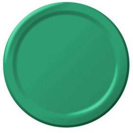 Festive Green Paper Dessert Plates (20ct)