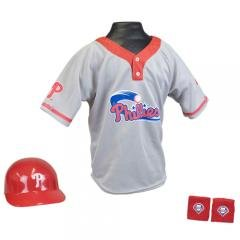 Philadelphia Phillies Youth Child MLB Helmet and Jersey Halloween Baseball Costume... by MLB
