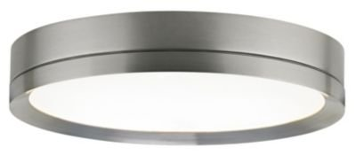 Finch Round Flush Mount Ceiling Satin Nickel Finish 12In Led By Tech Lighting - Sku 700Fmfinrs-Led830