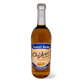 Da Vinci SUGAR FREE Peanut Butter Syrup 750mL with Splenda