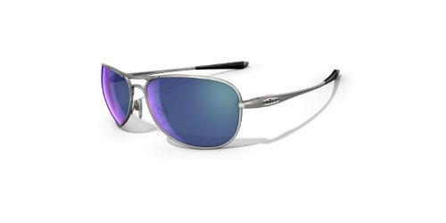 Oakley Men's Transom Polarized Round Sunglasses-Titanium Frame