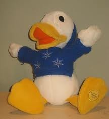 Dewey Duck Plush DISNEY STORE EXCLUSIVE FROM TWICE UPON A CHRISTMAS - 1