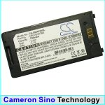 Replacement battery for SGH-X830, SGH-X838 / Black