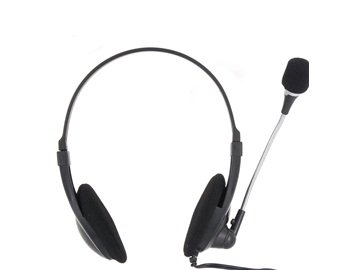 Kanen KM-330 Universal Stereo Headphone (Black)