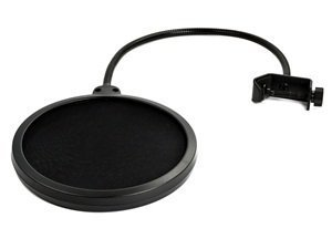 Bluecell 6 Inch Studio Microphone Mic Round Shape Wind Pop Filter Mask Shield Stand Clip
