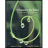 Chemistry for Today General Organic and Biochemistry by Spencer L. Seager
