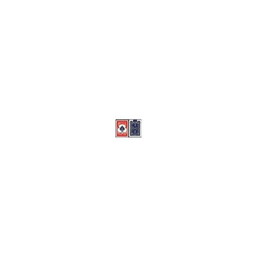 Imagen 1 de Baraja de forzaje BICYCLE 2*26 - Dorso Rojo (US Playing Card Company) - Juego de Magia