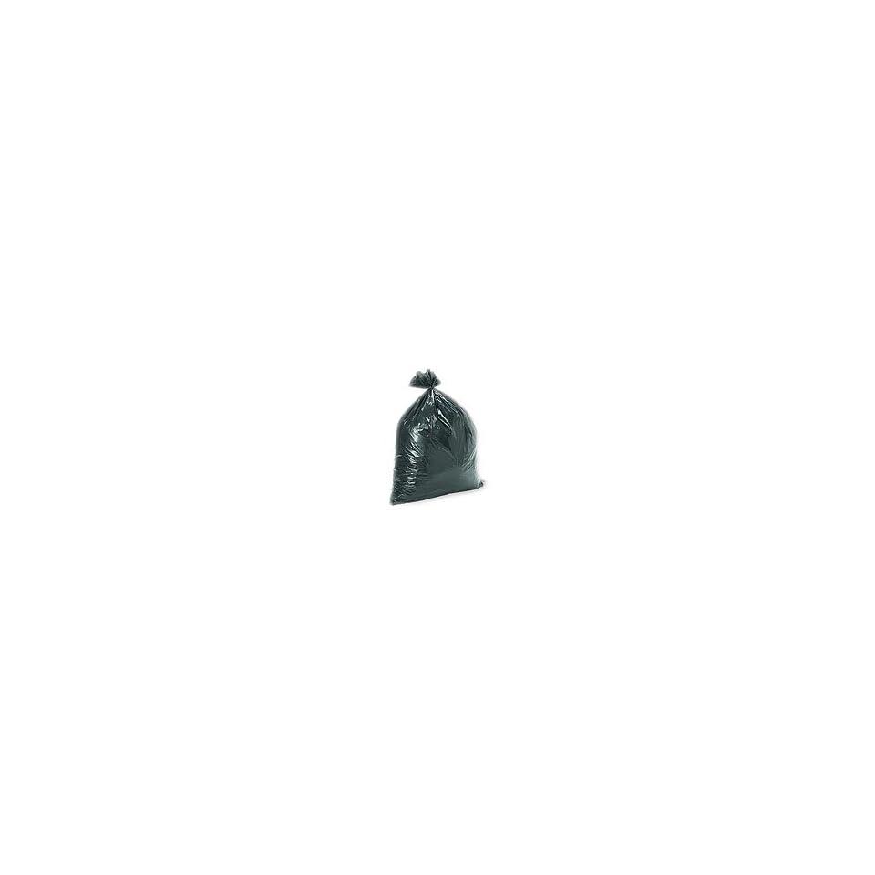 40X48 Black Trash Liners   Waste Bags 40 46 Gallon Capacity