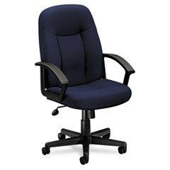 ** VL601 Series Managerial Mid-Back Swivel/Tilt Chair, Navy