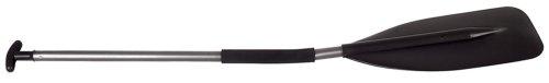 Carlisle Trekker Bent Shaft Aluminum Canoe Paddle (Black, 54-Inch)