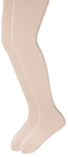 Country Kids Big Girls' Dressy Pearl Shimmer Opaque Tights 2 Pairs