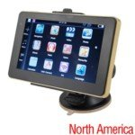 5-inch Touch Screen Windows CE.Net5.0 System 4GB Car GPS Navigator with North American Maps
