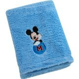 Disney Baby Mickey Mouse Cuddle Plush Blanket, 30x40in.