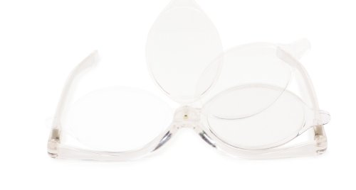 Kikkerland Magnifying Flip Lens Makeup Glasses