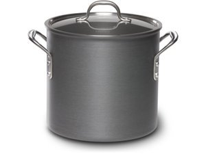 Calphalon Commercial Hard Anodized 12-Quart Stock Pot and Cover by Calphalon