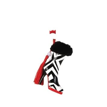 Working Girl Zebra Boot Christmas Ornament
