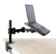 EZM Notebook/Laptop Arm Extension Mount Desktop Stand Clamp (002-0005) Notebook Arm Desk