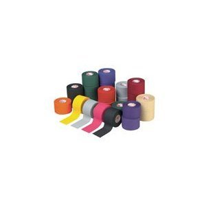 M-Tape Colored Athletic Tape - Rainbow, 32 Rolls by Mueller