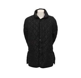 Stormafit Black Cotswold Quilted Mens Jacket - Size Small