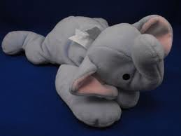 TY Pillow Pals - Squirt the elephant - 1