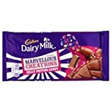 Cadbury Dairy Milk Marvellous Creations Jelly Popping Candy Shells 200G