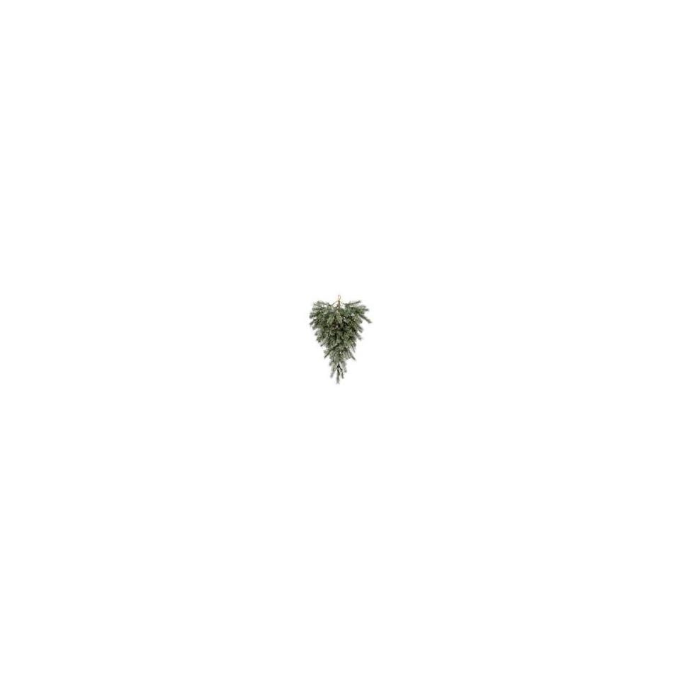 Vickerman 21953   36 Blue Albany Spruce Teardrop 45WmWht (A11462