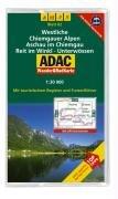 Wander RadKarte - Westliche Chiemgauer Alpen