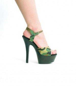 601-Juliet-M Ellie Shoes Camouflage Size: 8