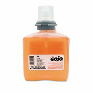 Gojo TFX Antibacterial Foaming Hand Soap, 2 Refills (GOJ 5362-02) kitcox70427dpr06042 value kit dial basics foaming hand soap dpr06042 and glad forceflex tall kitchen drawstring bags cox70427