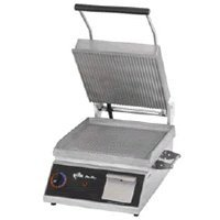 """Star Manufacturing Cg14B Pro-Max """"Panini"""" Grill, 14 X 14 In. Grooved Surface"""