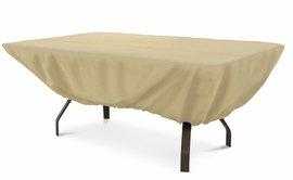 Terrazzo Rectangular Patio Table Cover