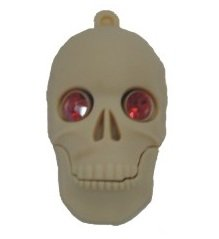 USB SKULL 4GB - Memory stick/drive for XP/Vista/Windows 7/Mac by EASYWORLD