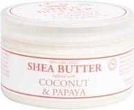 Shea Butter, Cocont& Papaya, 4 oz ( Multi-Pack)