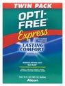 Opti-Free Disinfecting Solution, Multi-Purpose, No Rub, Twin Pack 2 - 10 fl oz (300 ml) bottles