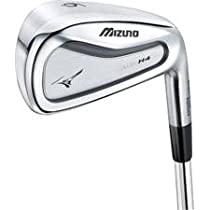 Mizuno MP-H4 Steel Iron Set - 4-PW - True Temper Dynamic Gold S300 Stiff - Right Hand