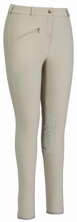 buy TuffRider Women's Ribb Knee Patch Breeches (Regular) for sale