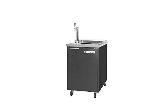 "Beverage Air BM23C-B 24"" Club Top Mobile Direct Draw Beer Dispenser"
