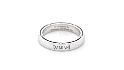 Damiani Ten Diamond White Gold Unity Ring