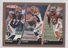 Buy Glenn Holt Kyle Larson Shayne Graham Cincinnati Bengals (Football Card) 2007 Topps Total 1st Edition Copper #283 by Topps
