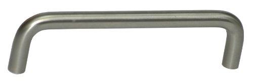 Top Preis Edelstahl Möbelgriff Schrankgriff Edelstahl massiv hochwertig gebürstet rostfrei BLA=128mm = M-0150631