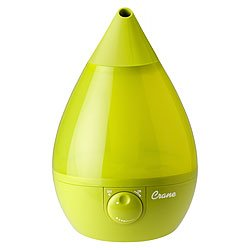 Buy Low Price Ultrasonic Cool Mist Nursery Humidifier – Green (CR-GREEN)