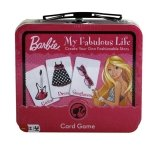 1 X Barbie My Fabulous Life Lunch Box Games Card Game